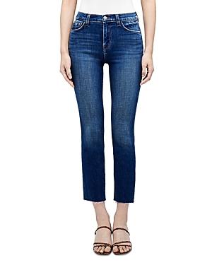 L\\\'Agence Sada High Rise Crop Slim Jeans in Crescent-Women