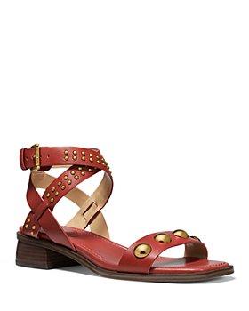 MICHAEL Michael Kors - Women's Garner Studded Strap Mid Heel Sandals