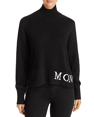 Moncler Wools WOOL & CASHMERE TURTLENECK SWEATER