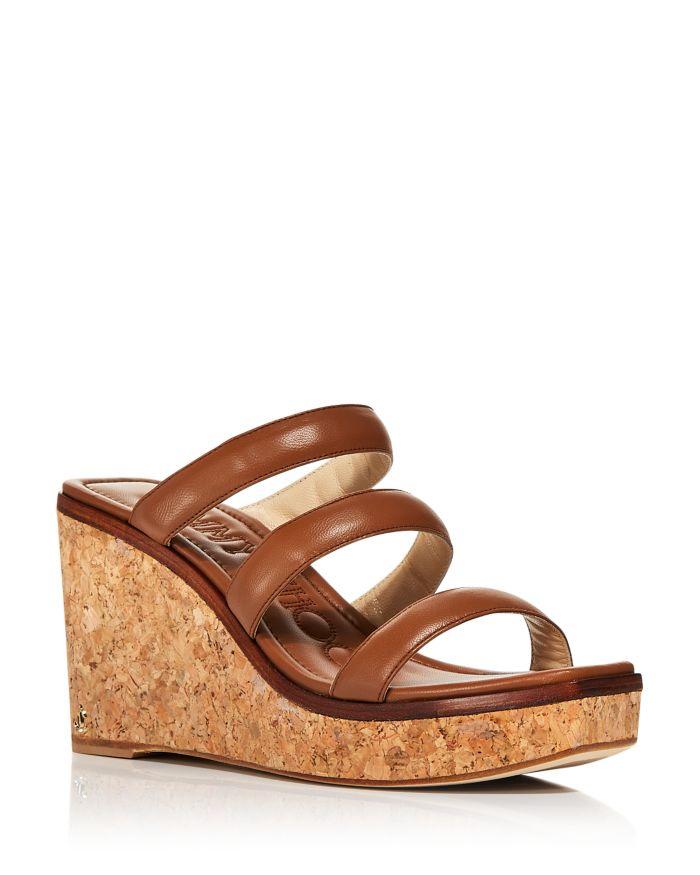 Jimmy Choo Women's Athenia 90 Strappy Wedge Sandals  | Bloomingdale's