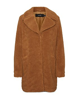 Vero Moda - Faux Fur Teddy Coat