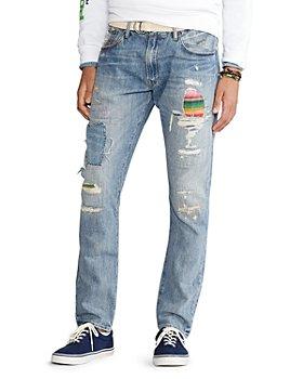 Polo Ralph Lauren - Sullivan Slim Fit Repaired Jeans in Arroyo