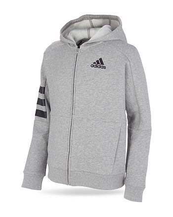 Adidas - Boys' Fleece Zip Up Hoodie - Big Kid