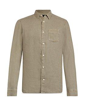 ALLSAINTS - Gilles Linen Shirt