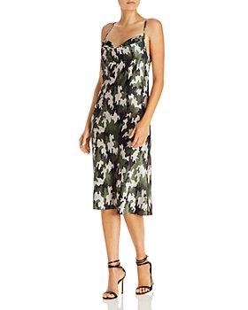 AQUA - Cowl-Neck Slip Dress - 100% Exclusive