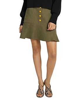 A.L.C. - Marnell Fit and Flare Mini Skirt