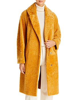 Maximilian Furs - Long Shearling Coat
