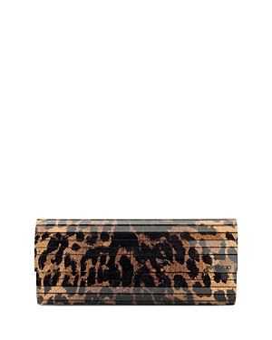 Jimmy Choo Sweetie Medium Animal Print Clutch-Handbags