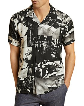 Ted Baker - Photographic Print Shirt