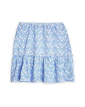AQUA - Girls' Daisy Printed Flounce Skirt, Big Kid - 100% Exclusive