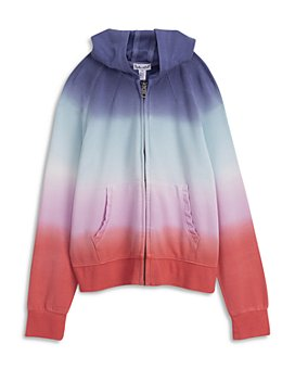 Splendid - Girls' Multi Dip Dyed Hoodie - Big Kid