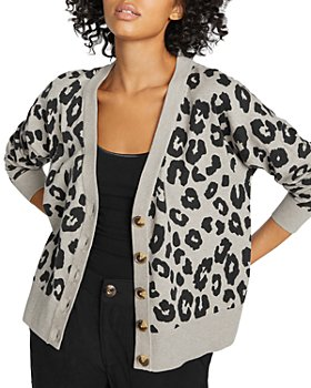 Sanctuary - Let's Hang Animal Print Cardigan