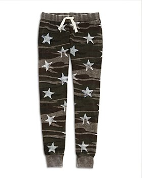 Vintage Havana - Girls' Star & Camo Print Pants - Little Kid, Big Kid