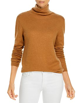 Vince - Fitted Cashmere Turtleneck Sweater