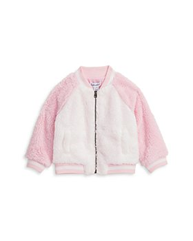 Splendid - Girls' Faux Sherpa Raglan Jacket - Baby
