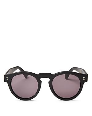 Unisex Leonard Round Sunglasses 48mm