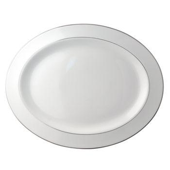 "Bernardaud - Cristal Oval Platter, 13"""
