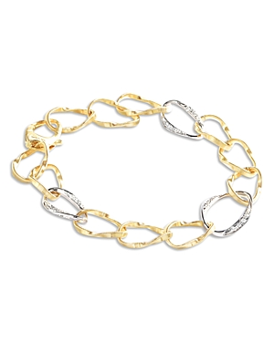 Marco Bicego 18K Yellow Gold Onde Diamond Link Bracelet-Jewelry & Accessories