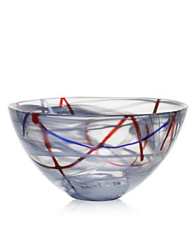 Kosta Boda - Contrast Grey Bowl, Large