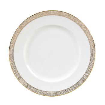 "Vera Wang - for Wedgwood ""Gilded Weave"" Dinner Plate"