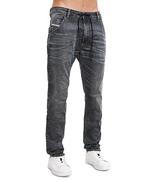 Diesel Krooley-y-Ne Straight Slim Fit Joggers Jeans in Denim