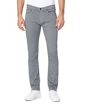 PAIGE - Federal Straight Slim Fit Jeans in Sedona Shadow