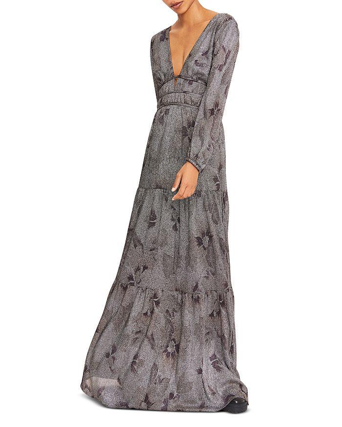 Ba&sh BA & SH LILI PRINTED MAXI DRESS