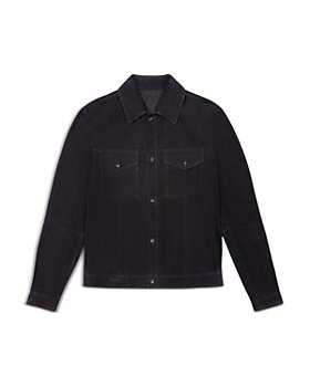 Bally - Leather Regular Fit Shirt Jacket