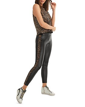 KORAL - Leopard Print Muscle Tank Top & Dynamic Duo High Rise Leggings