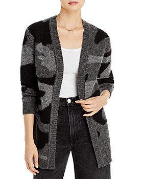AQUA - Camo Knit Cardigan - 100% Exclusive