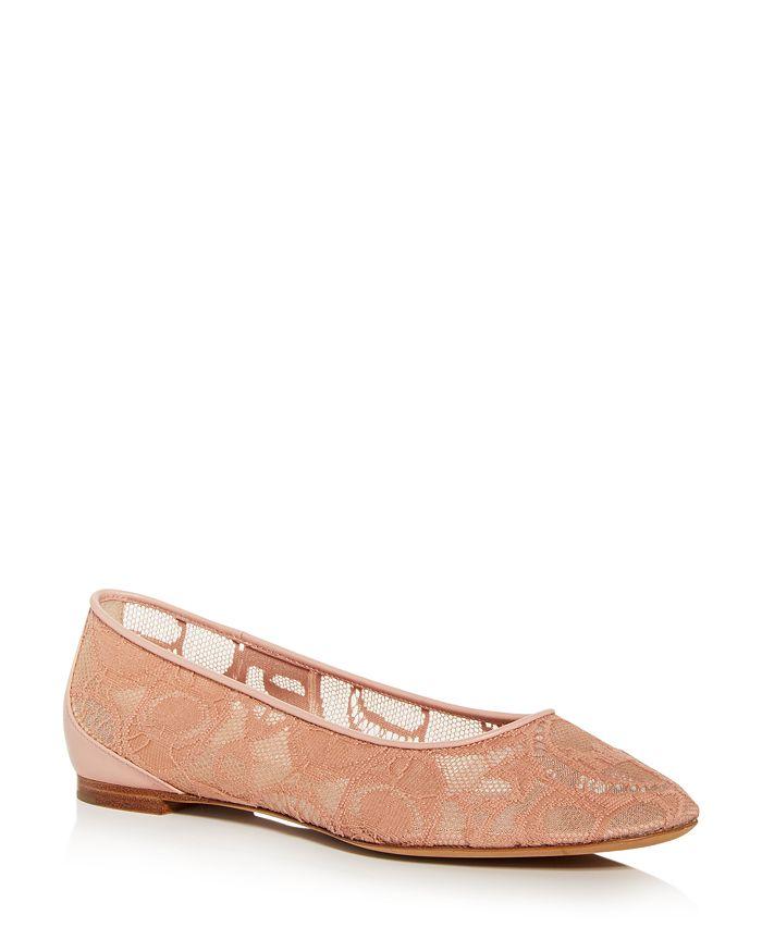 Chloé - Women's Lauren Lace Ballet Flats