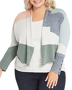 NIC and ZOE Plus - Plus Size Waves Cardigan