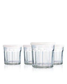 Luminarc - Working Glass 14 oz. Storage Jar with Lid, Set of 4