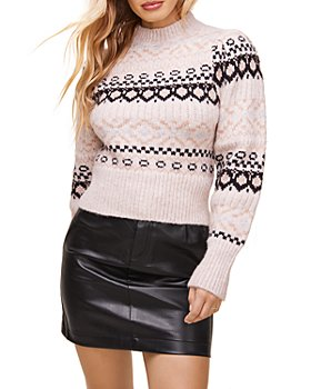 ASTR the Label - Maria Mock Neck Sweater