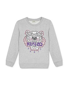 Kenzo - Girls' Embroidered Tiger Sweatshirt - Little Kid, Big Kid