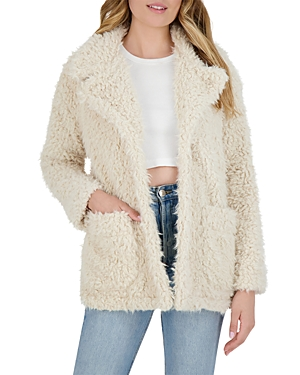 Bb Dakota x Steve Madden Warming Signs Faux Shearling Jacket-Women