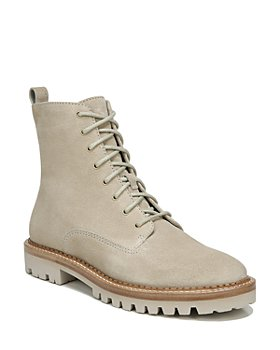 Vince - Women's Cabria Lug Water Repellent Lace Up Booties
