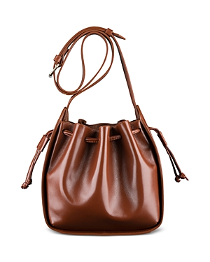 A.p.c. Courtney Small Leather Bucket Bag-Handbags