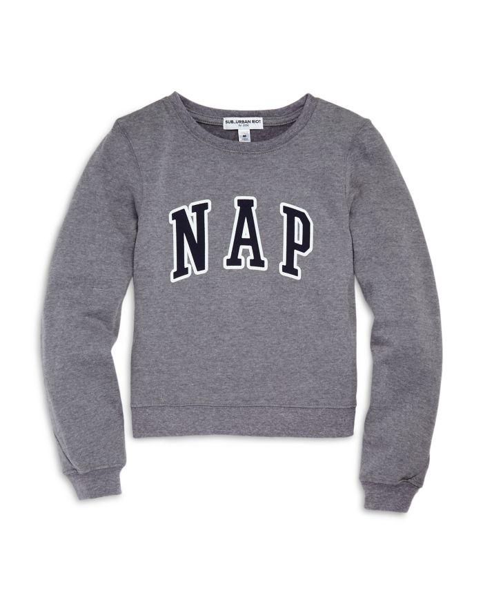 Sub_Urban Riot Girls' Selena Nap Sweatshirt - Big Kid  | Bloomingdale's