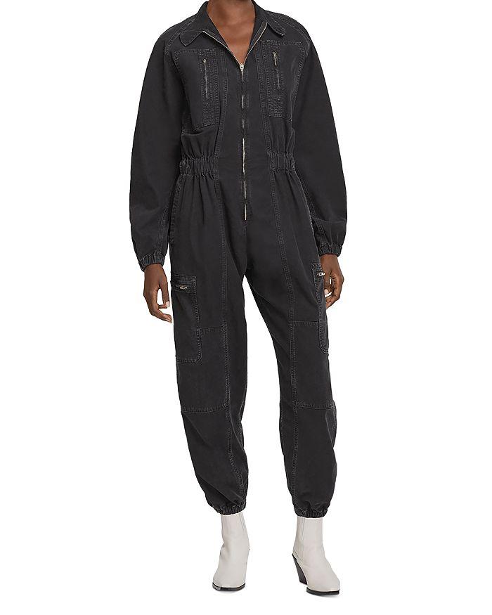 AGOLDE - Marin Cotton Flight Jumpsuit