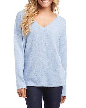 Karen Kane - V Neck Sweater