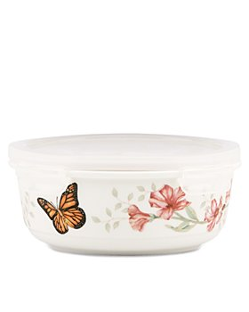 Lenox - Butterfly Meadow Round Serve & Store Container