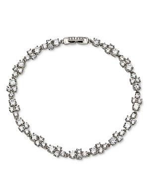 Nadri Cubic Zirconia Cluster Line Bracelet