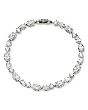 Nadri Chloe Multi Cut Cubic Zirconia Line Bracelet