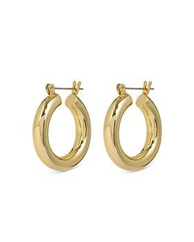 Luv Aj - Baby Amalfi Tubular Hoop Earrings