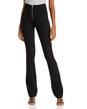 rag & bone - Simone Flare Leg Exposed Zip Front Pants