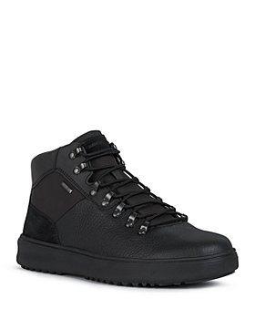 Geox - Men's Cervinobabxa Leather and Suede Boots