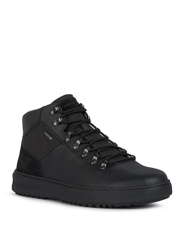Geox - Men's Cervinobabxa Leather and Suede Boots