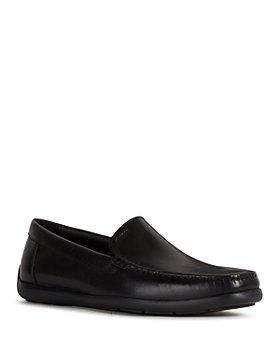 Geox - Men' Devan Leather Slip-On Shoes