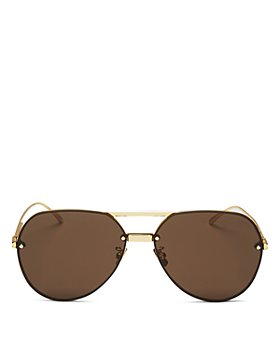Bottega Veneta - Unisex Aviator Sunglasses, 61mm